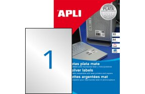 LABELS APLI N.10071 210x297 SILVER